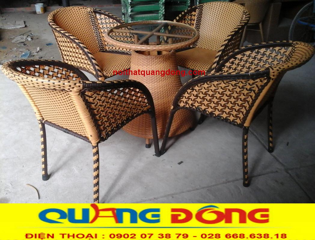 Công ty sản xuất bán ghế giả mây tại xưởng, cam kết về chất lượng giá gốc xuất xưởng