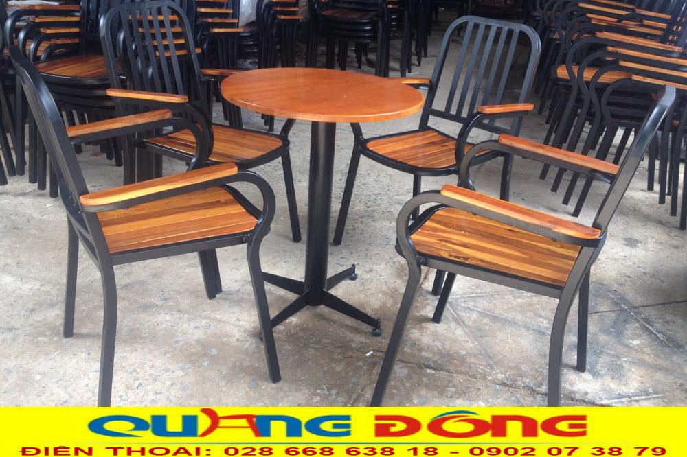 Nhà sản xuất cung cấp bàn ghế cho quán cafe tại hcm. Mua ghế giá tận gốc tại xưởng tại Công ty Tnhh Nội THất Quang Đông