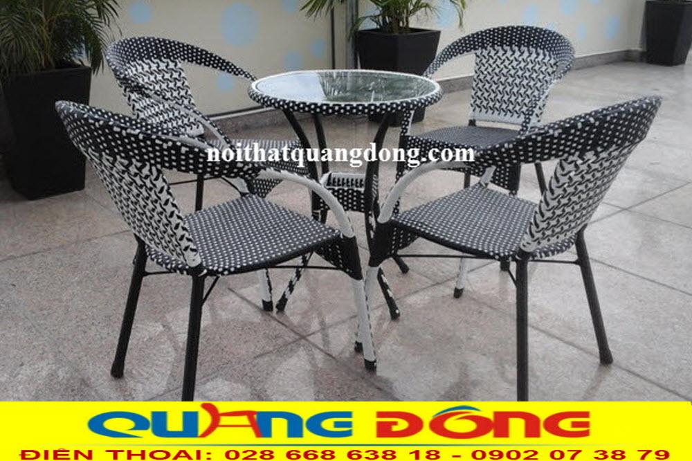 Công ty sản xuất ghế giả mây tại hcm, chất lượng tốt giá bán tận gốc tại xưởng của công ty, sản phẩm được bảo hành dài hạn