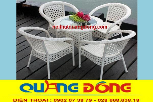 ghế giả mây chuyên dùng cho quán cafe sân vườn,hay khu resort sang trọng