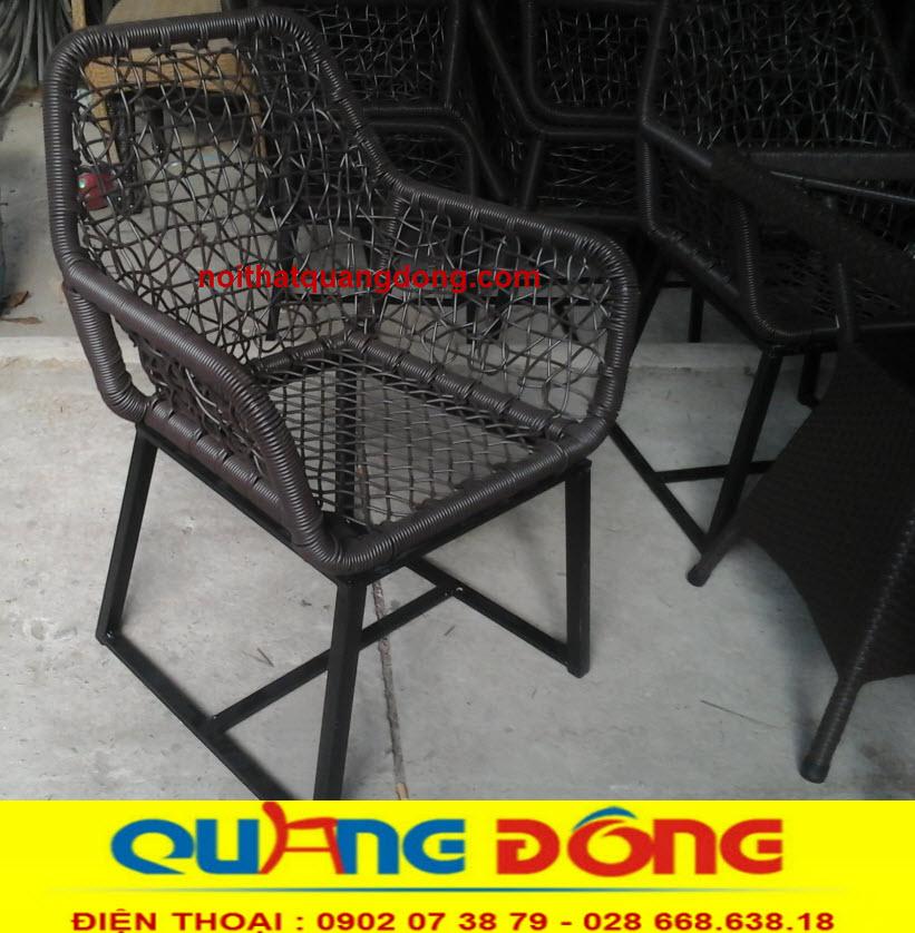 Ghế giả mây cao cấp độc lạ cho quán cafe, địa chỉ sản xuất ghế giả mây
