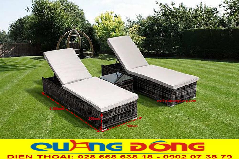 Công ty sản xuất ghế nằm hồ bơi, giường tắm nắng cho dự án khu resort, khách sạn... giá tốt tại hcm
