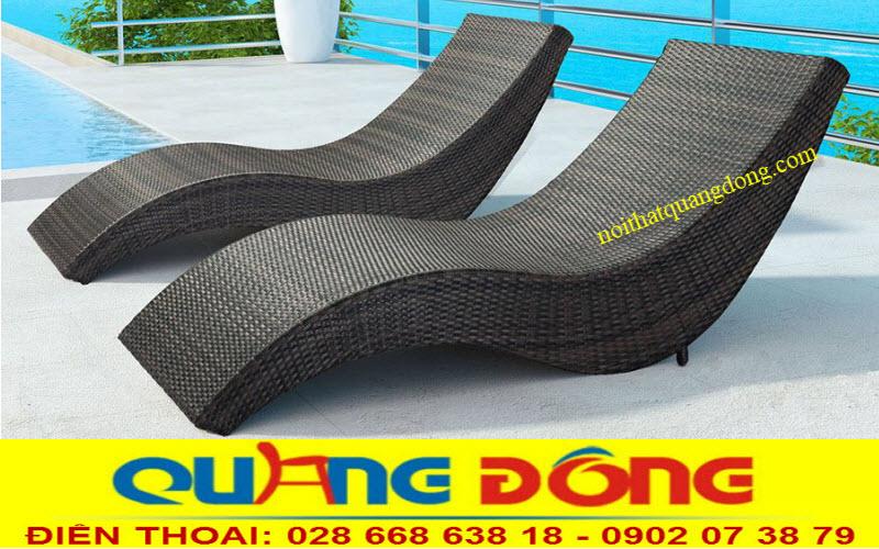 Mẫu ghế tắm nắng nắng thư giãn chuyên dùng cho bể bơi