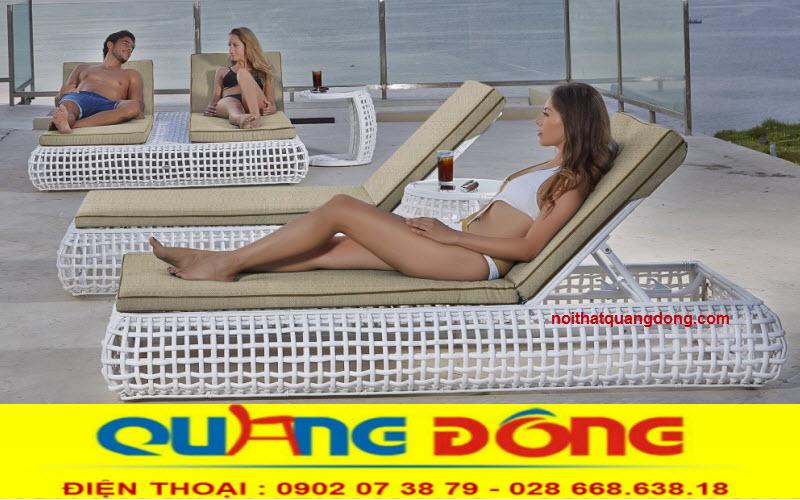 Những mẫu ghế hồ bơi cho khách sạn khu resort tuyệt đẹp, công ty sản xuất cung cấp ghế hồ bơi giá tốt tại xưởng