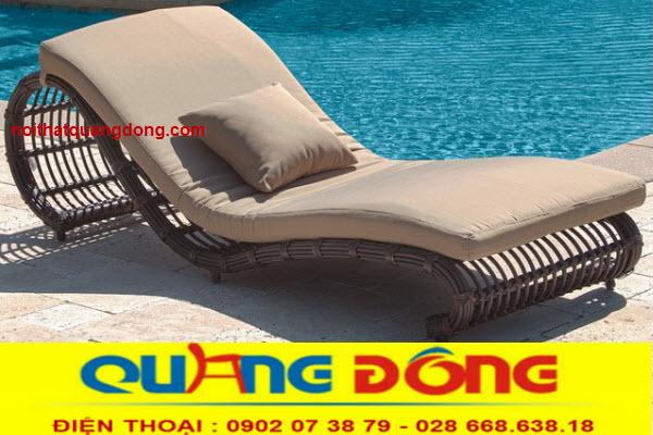 Ghế nằm hồ bơi giả mây tre được sử dụng rộng rãi những khách sạn cao cấp, và khu resort bởi ưu điểm tuyệt vời chịu mưa nắng, mẫu mã mới lạ đẹp mắt mà giá lại rẻ