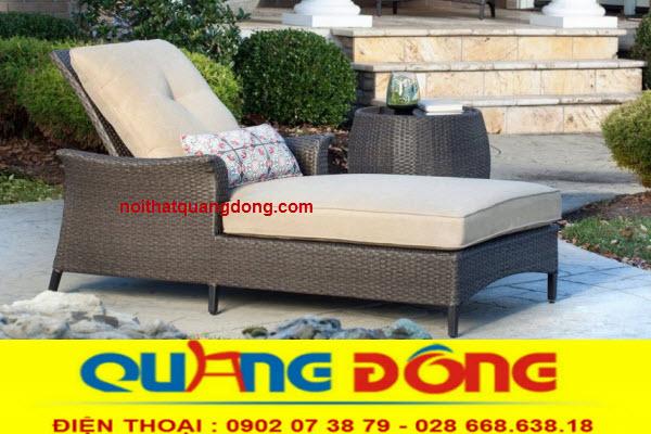 Ghế hồ bơi QD-586 chuyên dùng cho bể bơi vật dụng thư giãn tắm nắng không thể thiếu của hồ bơi