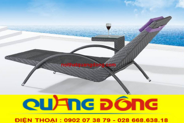 Ghế hồ bơi QD-589 giải pháp thư giãn tắm nắng tuyệt vời cho bể bơi gia đình, khách sạn, khu resort