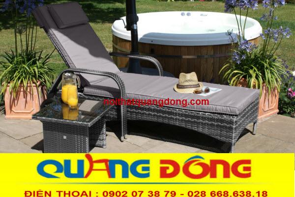Công ty sản xuất ghế hồ bơi giả mây với nhiều mẫu mã đẹp, giá bán tại xưởng . Nhận sản xuất theo yêu cầu