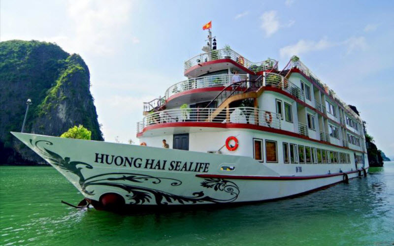 Tàu du lịch sealife hương hải hạ long